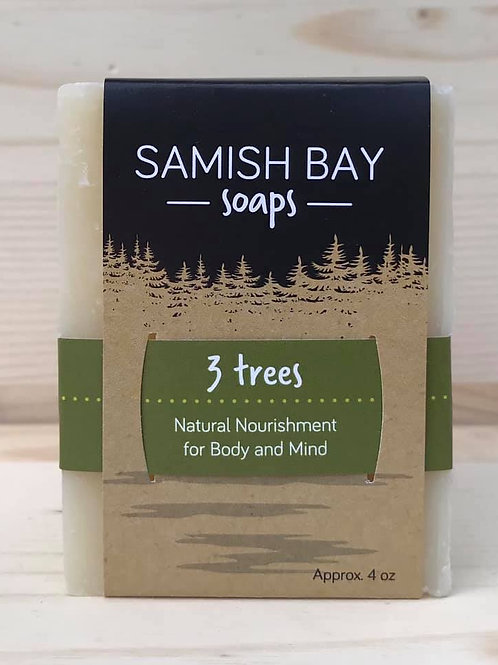4-Ounce 3 Trees Soap