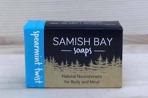 1-Ounce Spearmint Twist Soap