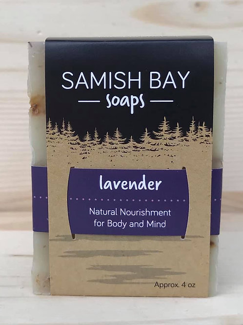 4-Ounce Lavender Soap