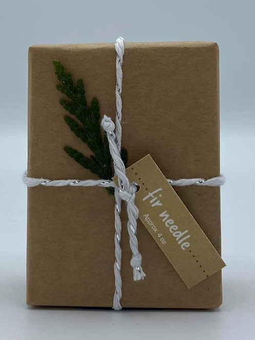 4-Ounce Paper Wrapped Fir Needle Soap