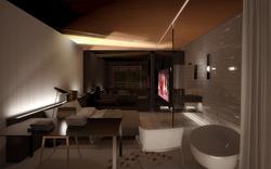 """Hotel - bedroom """"contemporanea"""""""