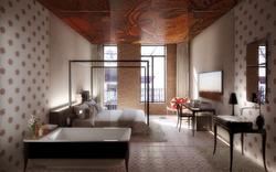 "Hotel - bedroom ""modernista"""