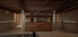 Villa toscana: cucina
