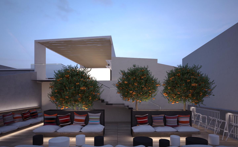 Hotel - tetto giardino