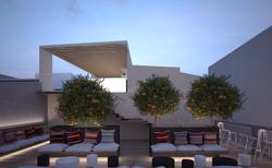 Hotel - roof garden