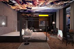 "Hotel - bedroom ""siglo oro"""