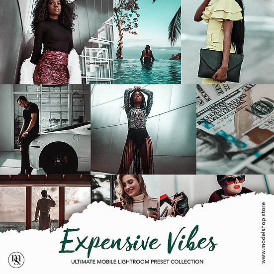 Expensive Vibes - Lightroom Preset (For Mobile)