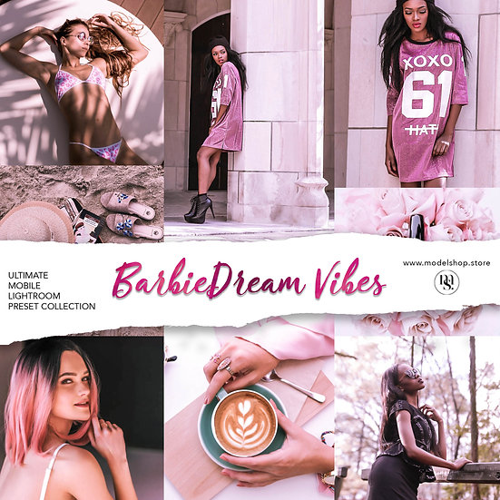 BarbieDream Vibes - Lightroom Preset (For Mobile)