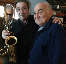 Justin Holden(left, Greg Abate(center) & Emilio Lyons The Sax Doctor