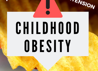 Childhood Obesity...You Can HELP!