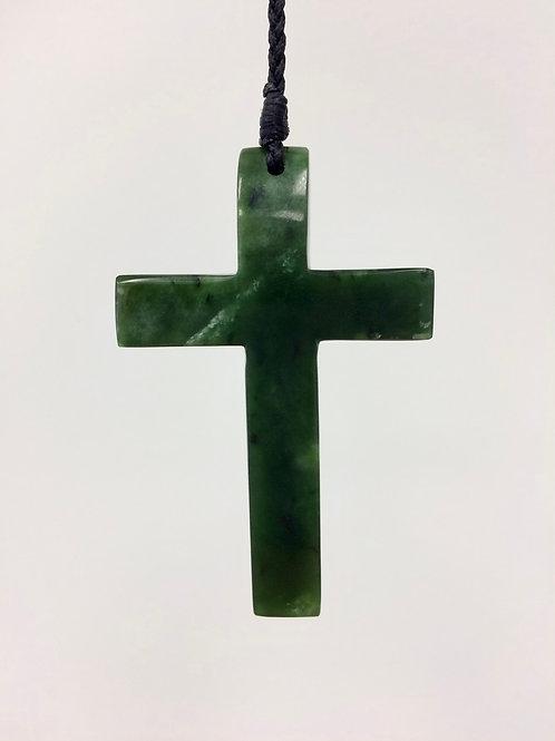 Pounamu Cross
