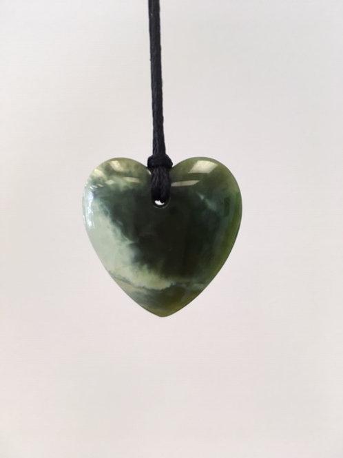 Pounamu Heart