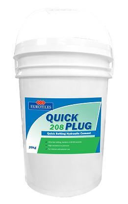 eurtiles quick plug, quick, plug, waterproofing, hydraulic cement, quick set, quick setting, hydraulic cement, hydraulic waterproofing