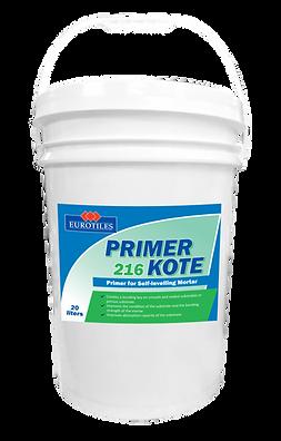 eurotiles primer kote, primer kote, waterproofing, self levelling, mortar, waterproofing mortar