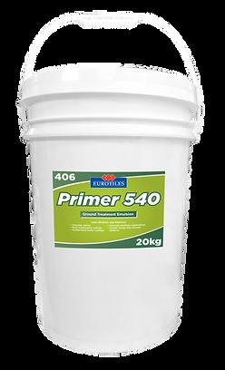eurotiles primer 540, primer, emulsion, ground treatment emulsion, primer emulsion