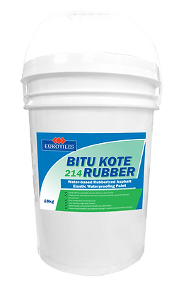 eurotiles bitu kote rubber, waterproofing, bitu kote, bitu kote 214, waterproofing. rubberized waterproofing, waterproofing paint, elastic waterproofing, waterproofing