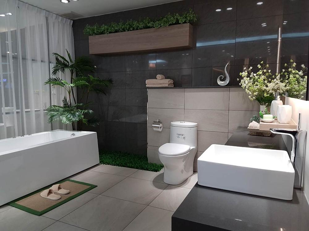 sanitary ware, bathtub, water closet, faucet, tiles, sink, bathroom