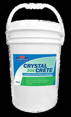 crystal crete 206, crystal crete, waterproofing, cementitious waterproofing, crystal waterproofing, waterproofing paint