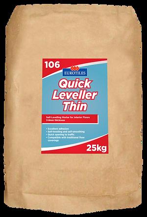 eurtiles quick leveller thin, thin levellerm mortar, leveling mortar, thin mortar, leveller, self levelling mortar