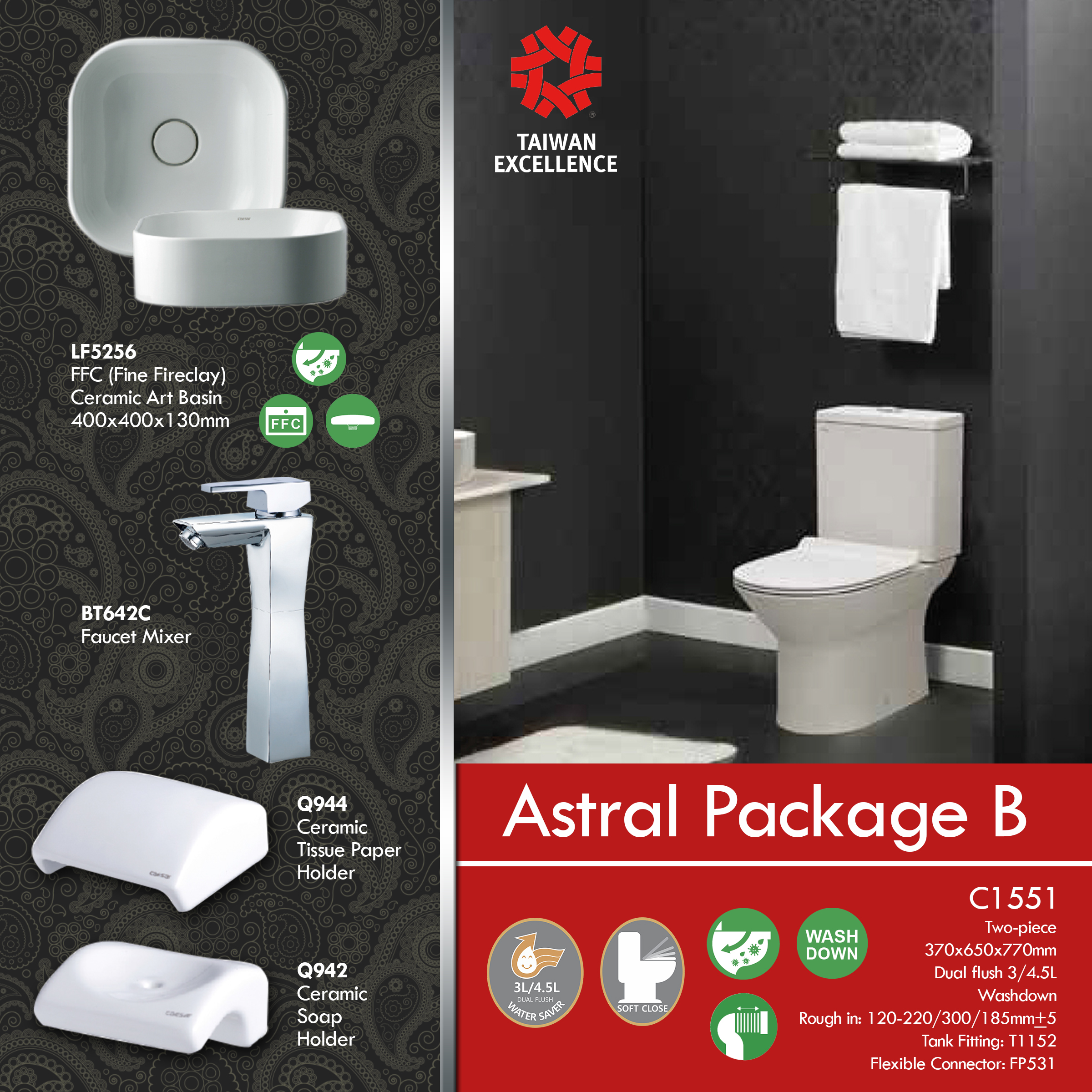 ASTRAL PACKAGE B