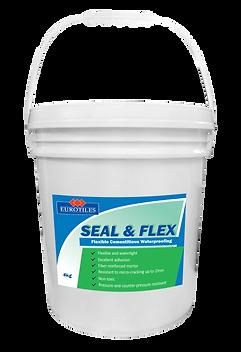 eurotiles, waterproofing, cementitios waterproofing, flexible waterproofing, Seal and Flex, Seal, Flex, flexible waterproofing