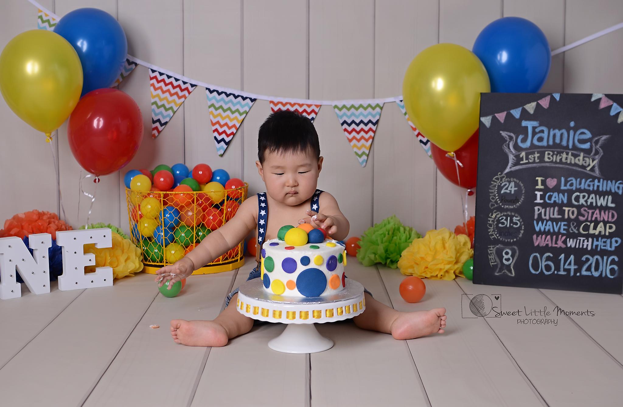 cake smash O