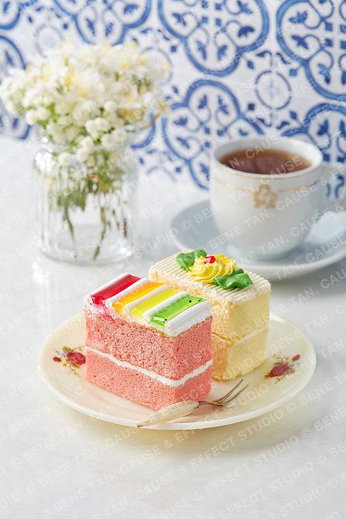 Old School Buttercream Cakes