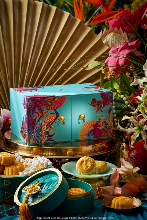 Crazy Rich Mooncake Collection by Baker's Brew