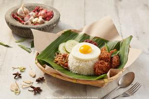New Nasi Lemak Menu - Old Chang Kee
