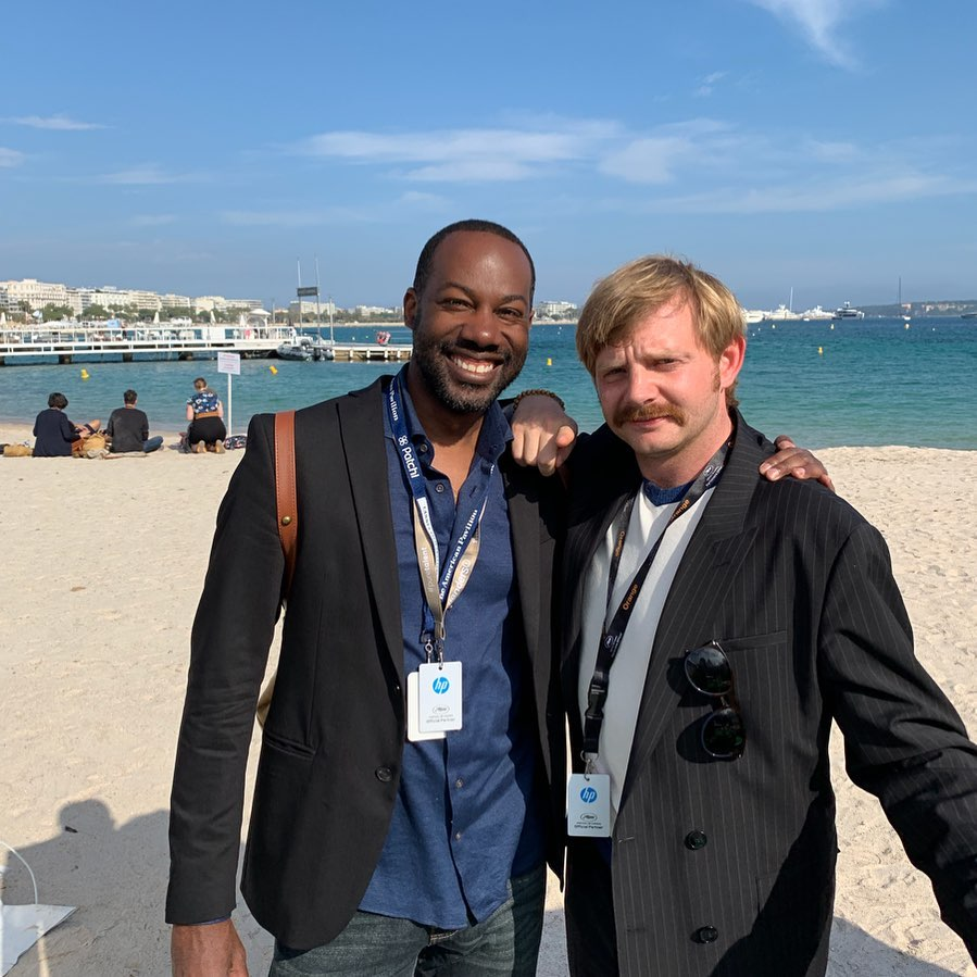 2nd Cannes trip with Actor in _Once upon