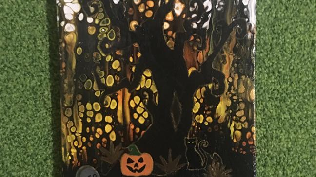 Creepy Halloween Tree