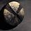Thumbnail: Black and Gold Coaster Set