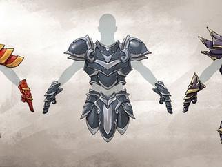 Update 0.62: Kickstarter Armors Have Arrived!