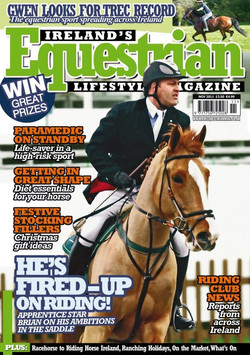 Front Cover Ireland's Equestrian