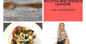 Butternut Squash, Ricotta & Spinach Lasagne