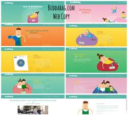 Buddabag.com Web Copy