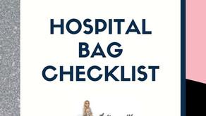 Hospital Bag Checklist...
