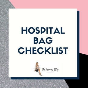 Hospital Bag Checklist...