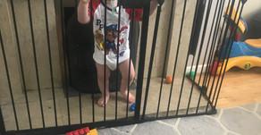 A Toddler Tornado of Destruction