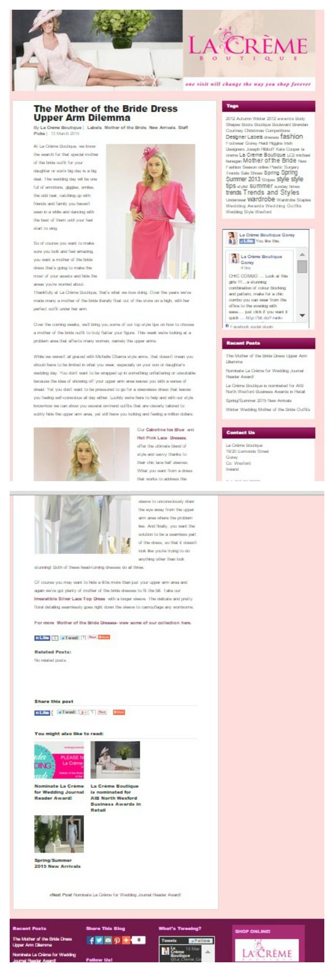 Blog Posts La Creme Boutique