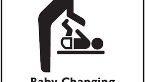 Stop Hogging The Baby Changing Bathroom