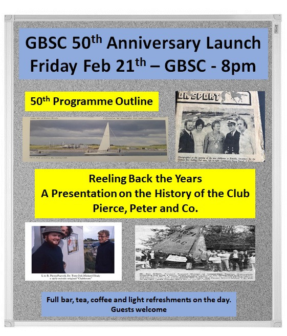 Friday Feb 21th - GBSC - 8pm, Reeling Back in the Years