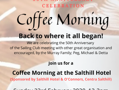 50th GBSC Anniversary Celebration - the Salthill Hotel, Sun 23rd Feb 2020, 12 - 2pm