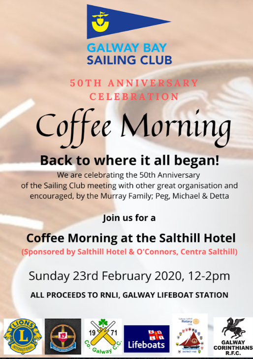 Coffe Morning Salthill Hotel 50th anniversary