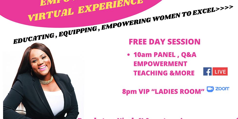 2020 LADY OF VIRTUE EMPOWERMENT VIRTUAL EXPERIENCE
