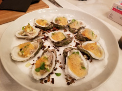 Half-Shell Oysters