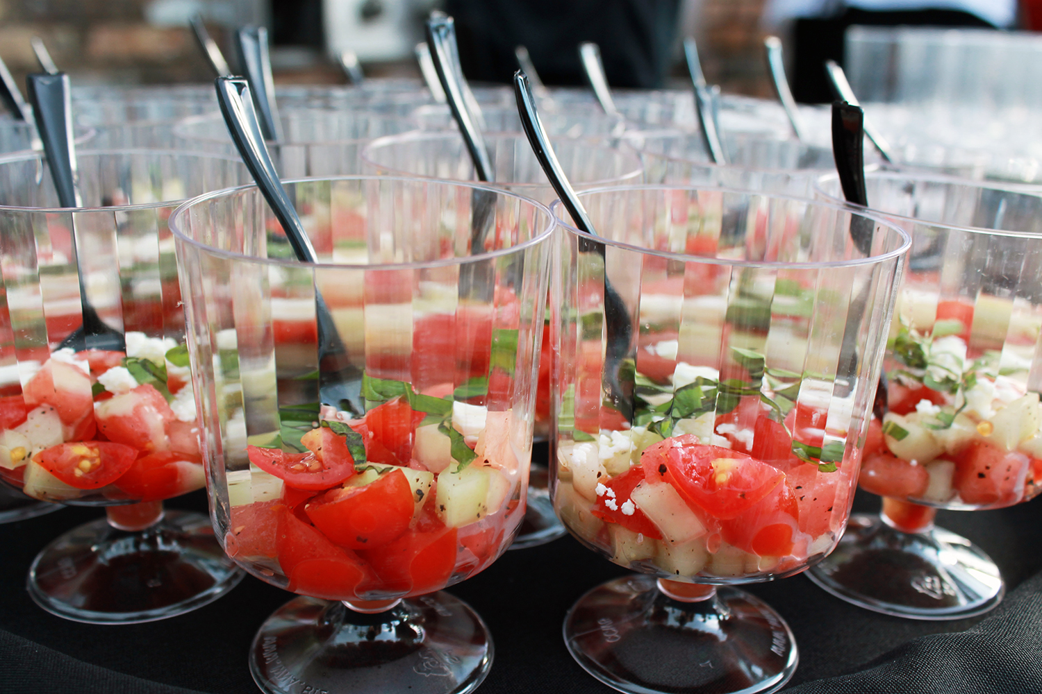 Tomato & Watermelon Cups