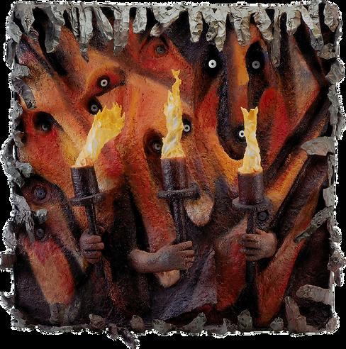 Caverne Art Contemporain Torches Paris France
