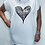 Thumbnail: Animal Print Heart T-Shirt Tunic