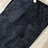 Thumbnail: Robell Blue Paisley Faux Suede Trousers